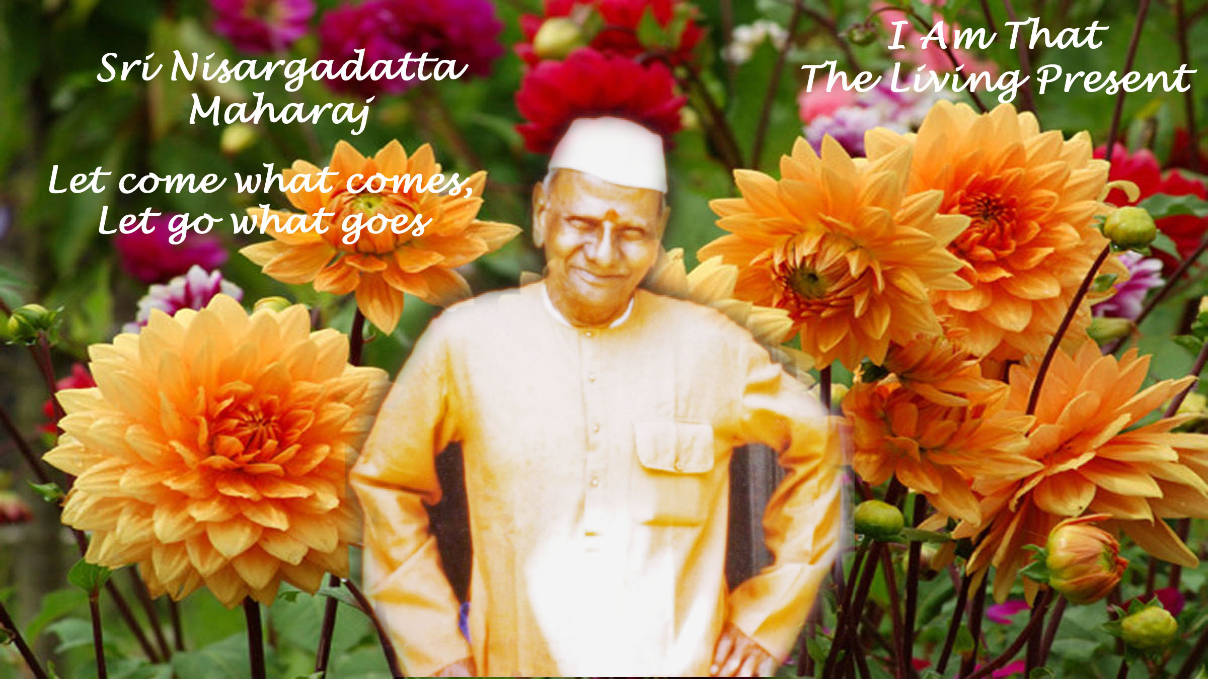 Nisargadatta : Let come what comes, Let go what goes - Video