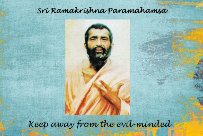 Ramakrishna : How to keep away from the evil-minded - Video