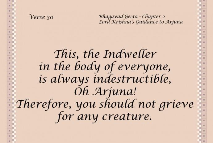 Bhagavad Geeta Quote 16