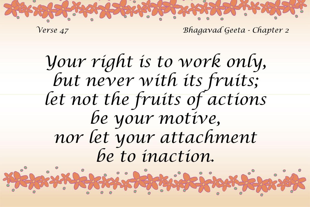 Bhagavad Geeta Quote 3