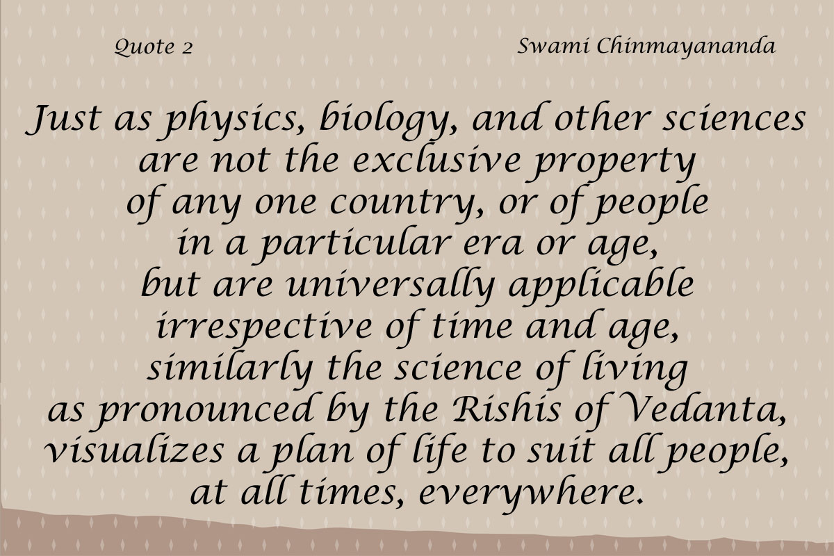 Chinmayananda Quote 2