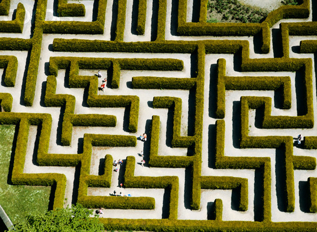 Getting out of the maze