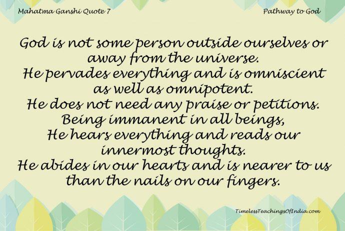 Mahatma Gandhi Quote 7