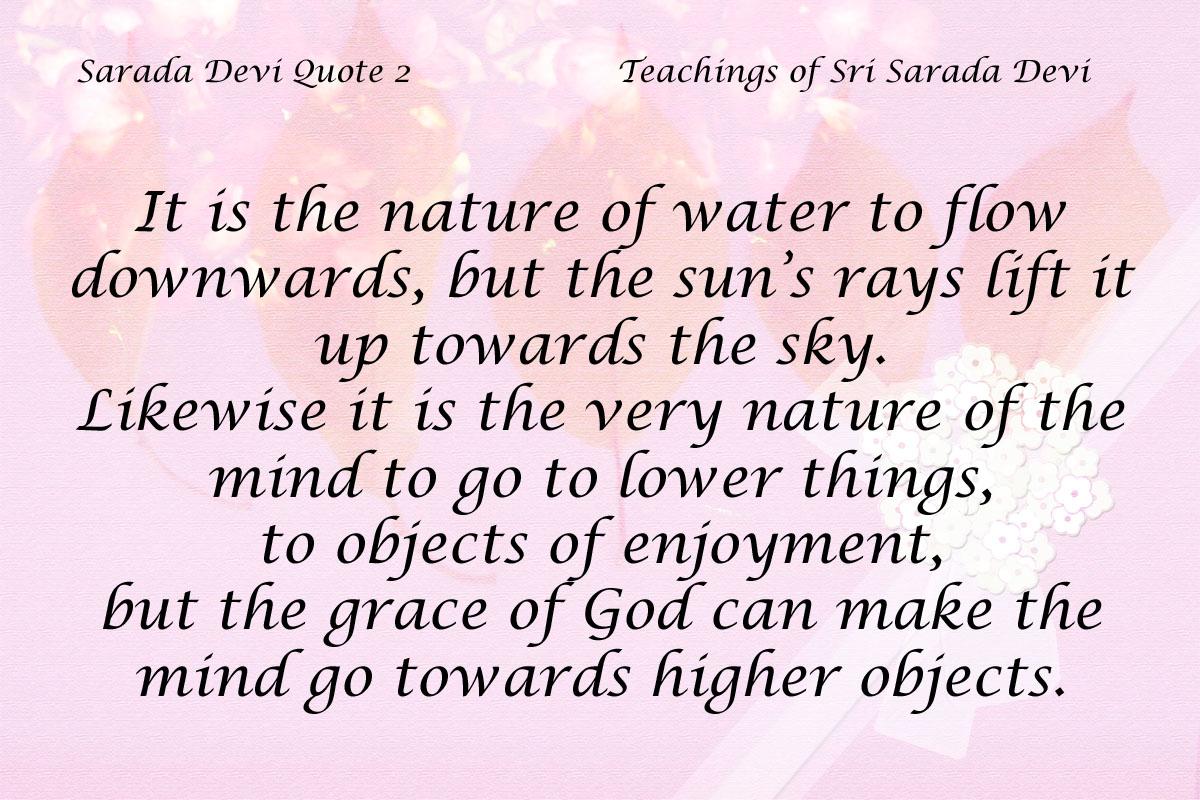 Sarada Devi Quote 2