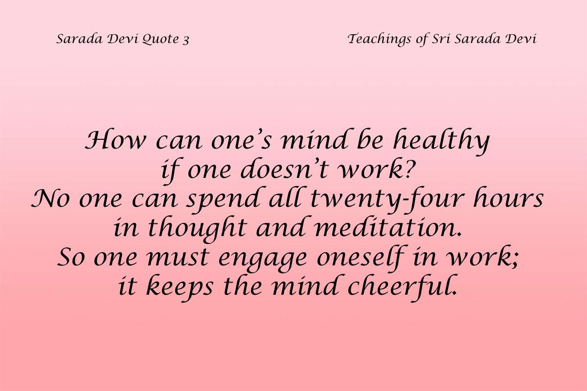 Sarada Devi Quote 3