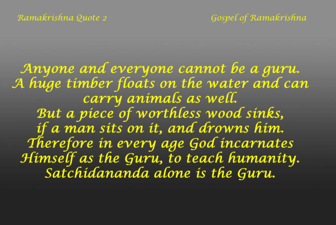 Ramakrishna Quote 2