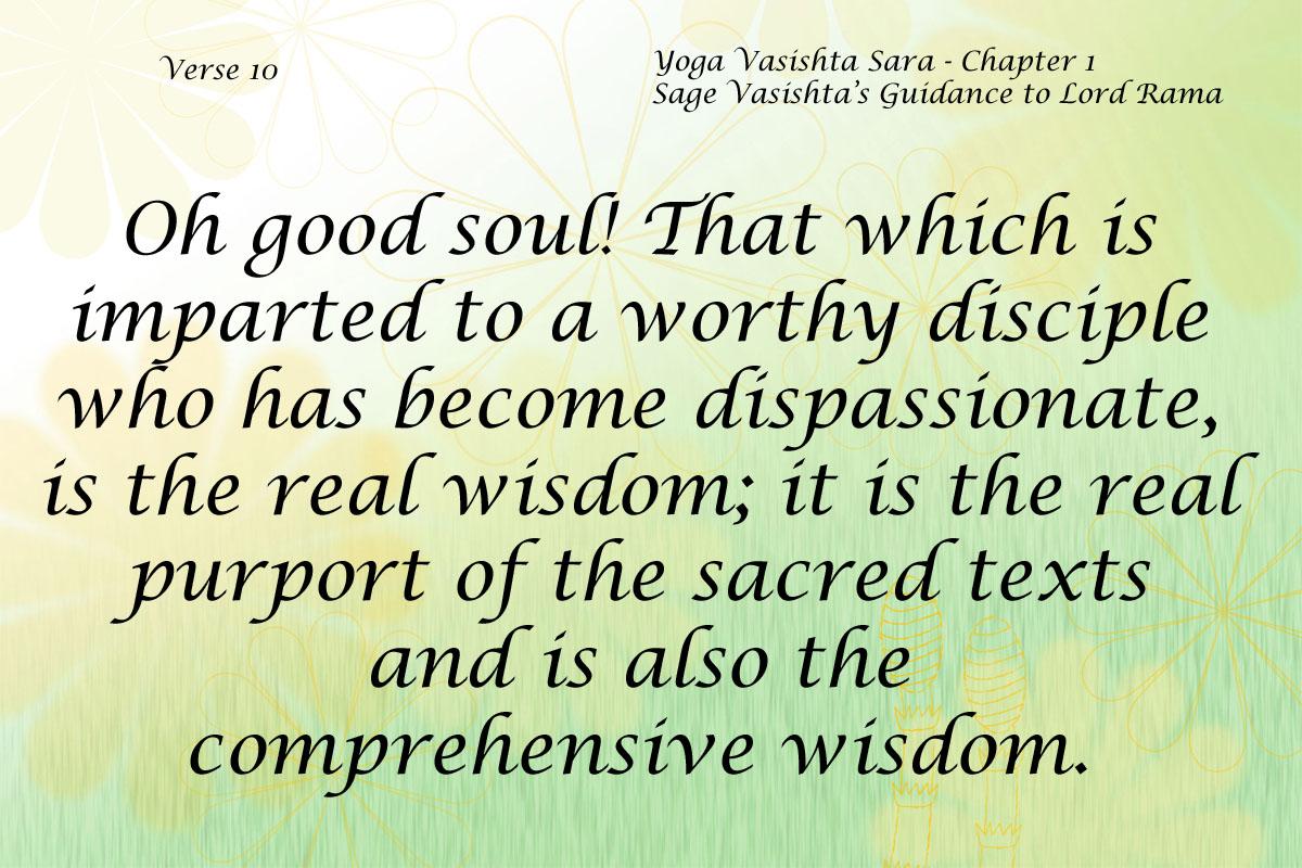 Yoga Vasishta Sara Quote 10