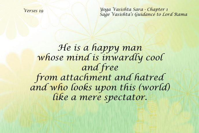 Yoga Vasishta Sara Quote 19
