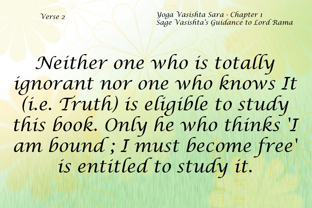 Yoga Vasishta Sara Quote 2