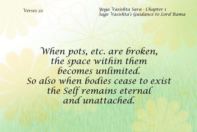 Yoga Vasishta Quote 22