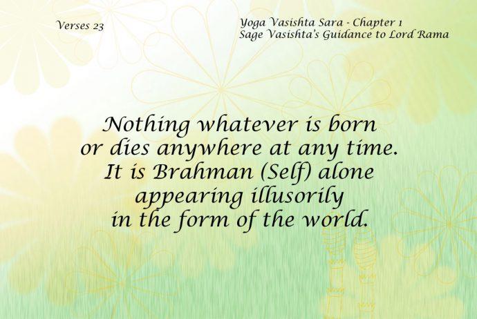 Yoga Vasishta Quote 23