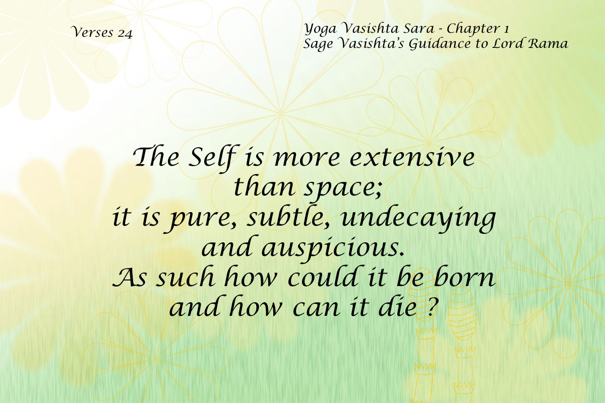 Yoga Vasishta Quote 24
