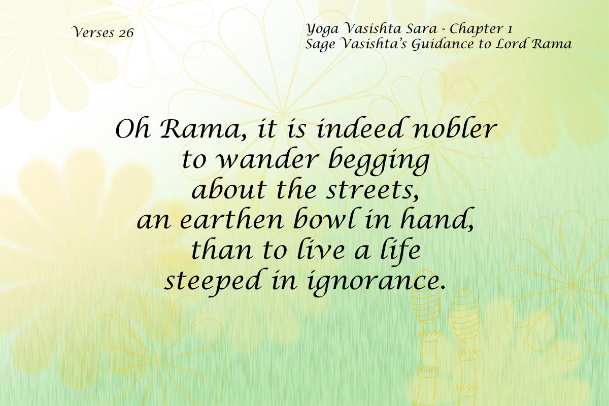 Yoga Vasishta Quote 26